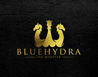 B L U E H Y D R A (Sea Monster) Logo Design