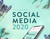 Oil Life Social Media