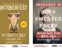 SFSS Pub & Event Posters