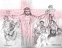 The Christ of the refugees