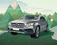 Mercedes-Benz GLA SUV China