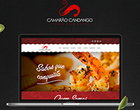 Site Camarão Candango
