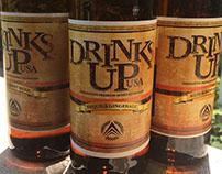 DrinksUpUSA Brand Identity