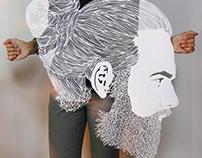 I Cut Hair On Paper | Papercutting Art