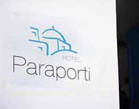 Paraporti Hotel Branding & UI-UX Design