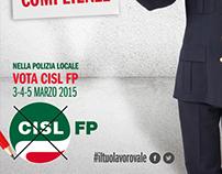 Campagna elezioni RSU 2015 per la sigla sindacale CISL