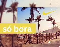 Nike Só Bora | Animação | Edição