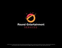 Round Entertainment Logo Design