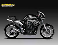 "SUZUKI BANDIT 1200 ""BLACK BETTY"""