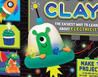 Circuit Clay Kit Design for KLUTZ & Scholastic Books