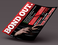 Exit Bail Bonds Flyer & Business Card