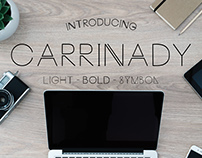 Carrinady Typeface