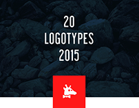 20 LOGOTYPES OF 2015