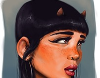 Daemon girl