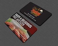 Restaurant Business Cards & Rack Cards