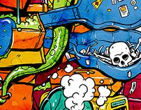 Jay Jays: Doomed Luggage T-shirt Print