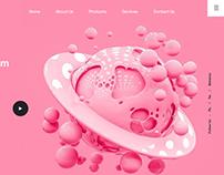 Space Bubblegum Fun with adobe xd
