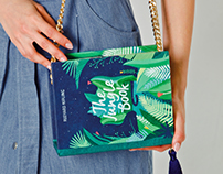 Jungle Book | wood book-clutch