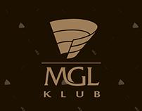 MGL Klub, menu design