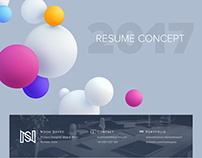 Nooh Sayed - Resume Concept