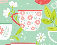 Blossoming Mugs