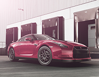 Nissan GTR (2014 project)