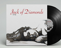 Jack of Diamonds - Emily // Album Cover and Layout