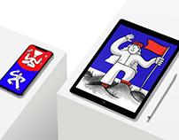 Illustrations for Metadium Ambassador Program