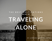 The Best Destinations when Traveling Alone