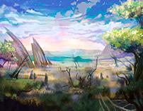 Swampland dawn
