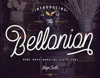Bellonion Monoline Script ( FREE Demo Version)