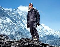 Climbers in Nepal