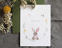 Postkarten-Set Ostern