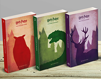 Harry Potter Alt Book Covers