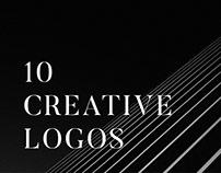 10 creative logos