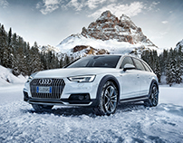 Audi | A4 allroad | TVC | Print