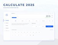 UI/UX Web calculate 2025