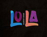 Lola Cafe & Restaurant and Apartments Branding