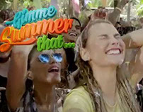 M-Net -  Gimme Summer That (Campaign)