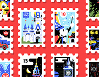 Main St. Stamp Collection