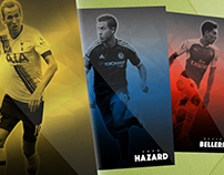 Topps KICK Polygon Design