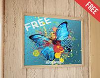 Poster – Free PSD Mockup