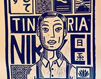 "Woodcut. Immigrants Project ""Japan"""