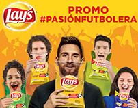 Lays Promo #PasiónFutbolera Product Label POP Material