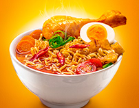 Indonesian Curry Noodle