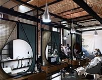BARONESA barber-studio [ápice-arquitectura] Puebla. MX.
