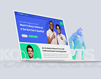 Capital Finance Solutions Website Design