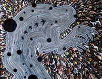 """Moaning Cities - """"D.Klein"""" artwork"""