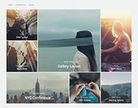 Peak Modern Grid WordPress Theme