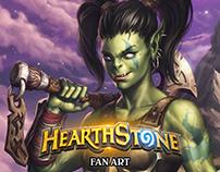 Garona Halforcen, Hearthstone Hero Fan Art
